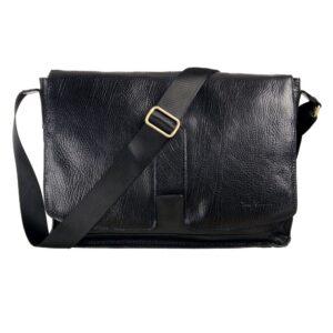 muska kozna torba, za lapp top, preko ramena, italijanska