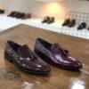 Bordo lakovane cipele