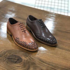 Braon svecane muske cipele